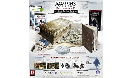 Assassin's Creed: Brotherhood, Collector's Edition (PlayStation 3)