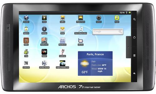Archos 70 250GB