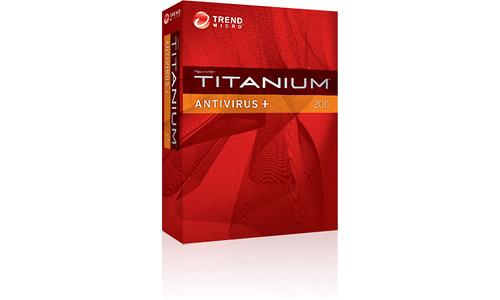 Trend Micro Titanium Antivirus 2011 BNL 3-user