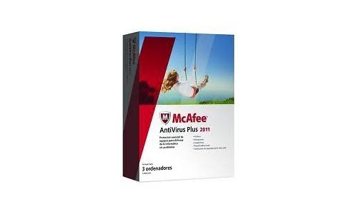 McAfee AntiVirus Plus 2011 NL Upgrade 3-user