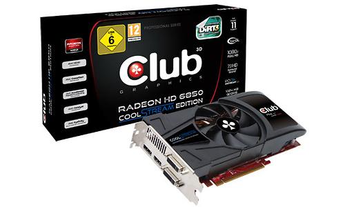 Club 3D Radeon HD 6850 1GB