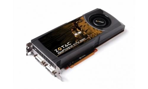 Zotac GeForce GTX 580 1536MB