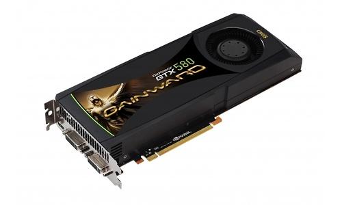 Gainward GeForce GTX 580 Golden Sample 1536MB