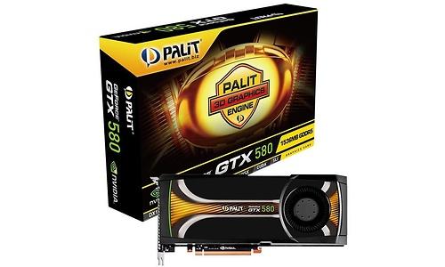 Palit GeForce GTX 580 1536MB