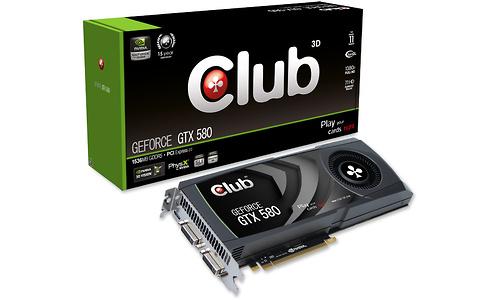 Club 3D GeForce GTX 580 1536MB