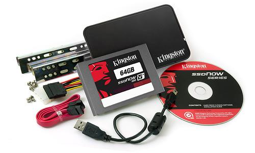 Kingston SSDNow V100 64GB (upgrade bundle)