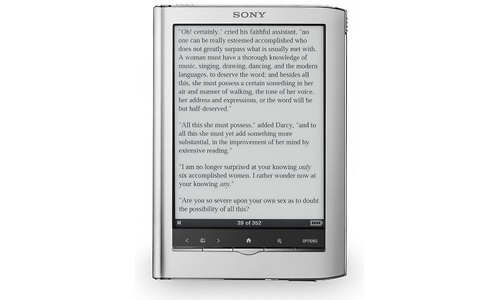 Sony PRS-650 Reader Touch Edition Silver