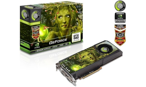 Point of View GeForce GTX 580 Ultra Charged 1536MB