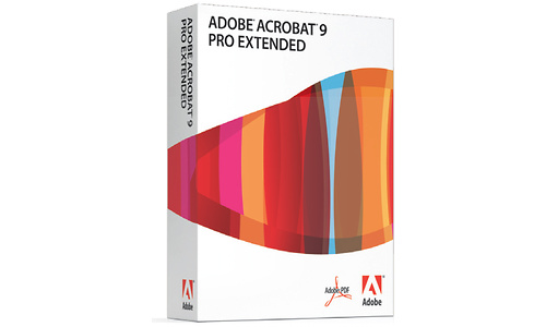 Adobe Acrobat Pro Extended 9.0 EN