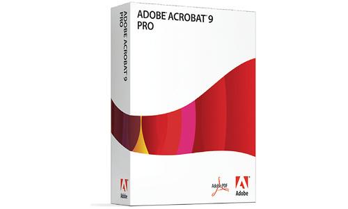 Adobe Acrobat Pro 9.0 EN (Mac)