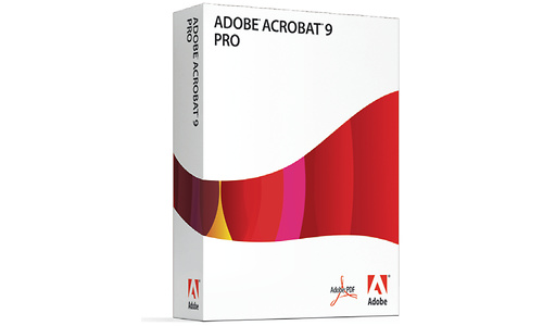 Adobe Acrobat Professional 9.0 EN Upgrade