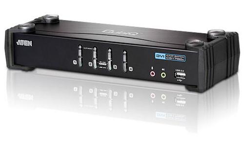 Aten 4-Port USB DVI/Audio KVMP Switch