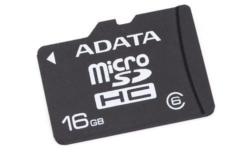 Adata MicroSDHC Class 6 16GB + Adapter