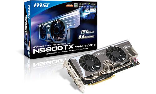 MSI N580GTX Twin Frozr II OC