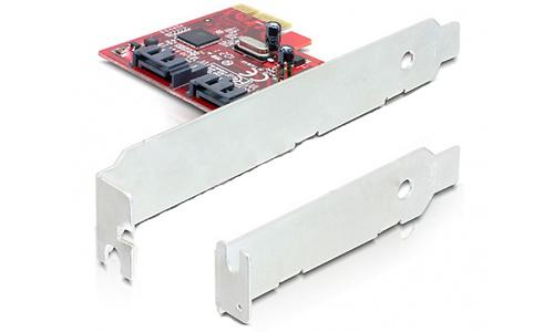 Delock 2-port SATA-600 Card