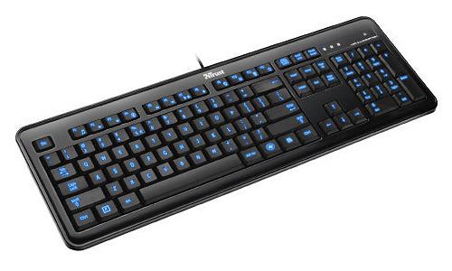 Trust eLight Led Illuminated Keyboard