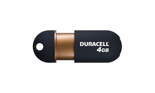 Duracell Capless USB Flash Drive 4GB
