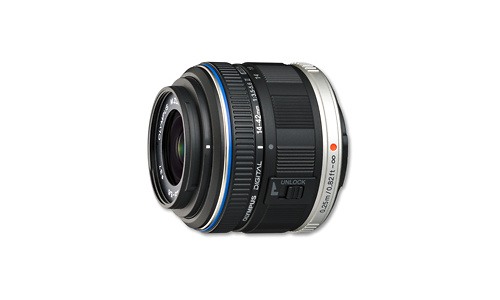 Olympus M.Zuiko Digital ED 14-42mm f/3.5-5.6 II Black