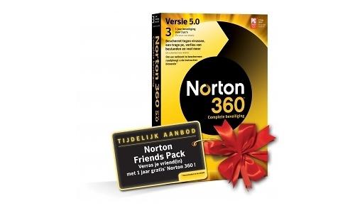 Symantec Norton 360 5.0 Friends Pack NL 3-user