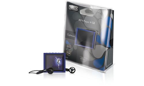 Sweex Optimuo MP4 Player 4GB Blue