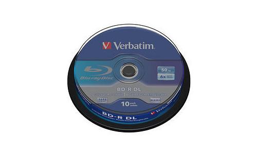 Verbatim BD-R DL 6x 10pk Spindle
