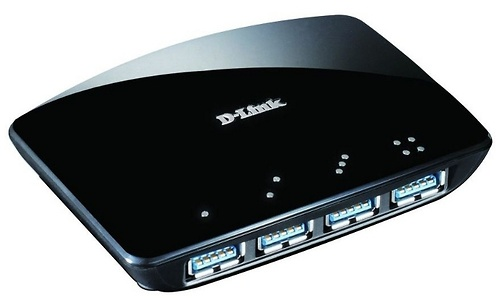 D-Link DUB-1340 4-port Superspeed USB 3.0 Hub