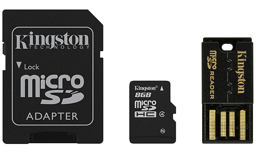 Kingston 8GB MicroSDHC Class 4 Mobility kit