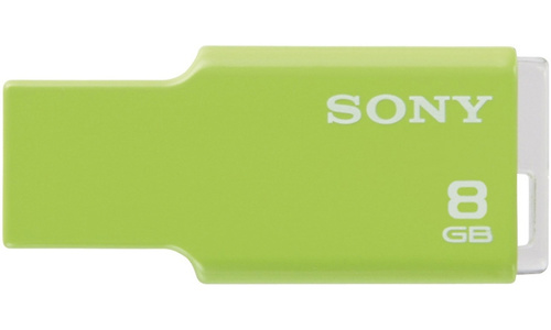Sony MicroVault Style 8GB Green