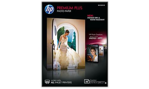 HP Premium Plus Glossy 13x18 20 sheets
