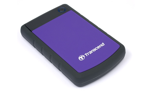 Transcend USB 3.0 Portable Hard Drive 1TB Purple