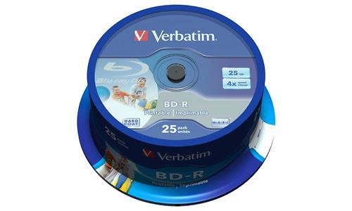 Verbatim BD-R 4x 25pk Spindle