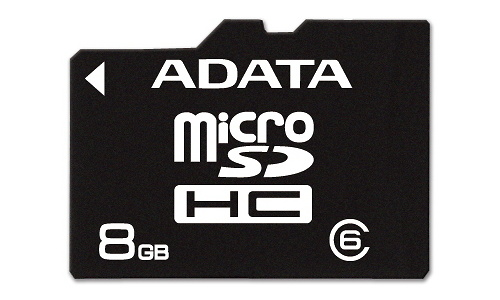 Adata MicroSDHC Class 6 8GB