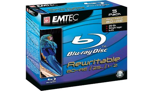 Emtec BD-RE 2x 25GB Jewel case