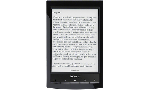 Sony Wifi Reader Touch PRS-T1 Black