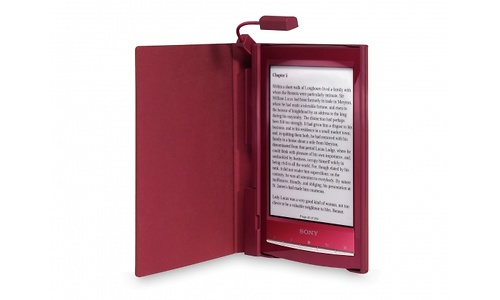 Sony Wifi Reader Touch PRS-T1 Light Cover Red