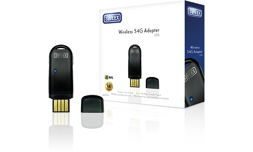 Sweex LW054 Wireless 54G USB Adapter