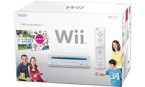 Nintendo Wii White Family Pack