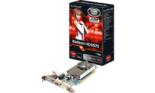 Sapphire Radeon HD 6570 LP 1GB