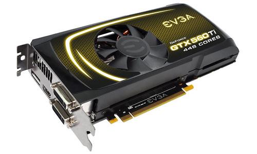 EVGA GeForce GTX 560 Ti-448 FTW 1280MB