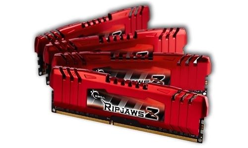 G.Skill RipjawsZ 16GB DDR3-1600 CL9 quad kit