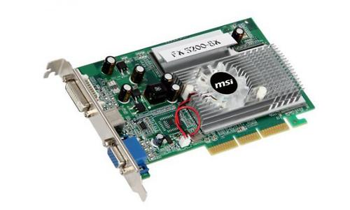 MSI FX5200-D256 256MB