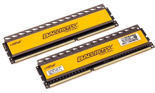 Crucial Ballistix Tactical 8GB DDR3-1866 CL9 kit
