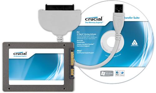 Crucial m4 64GB Slim (data transfer kit)