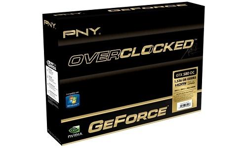 PNY GeForce GTX 580 OC 1536MB
