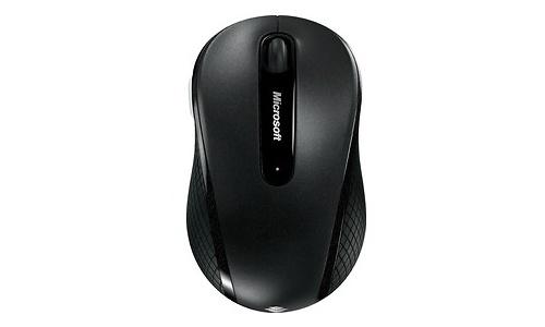 Microsoft Wireless Mobile Mouse 4000 Black