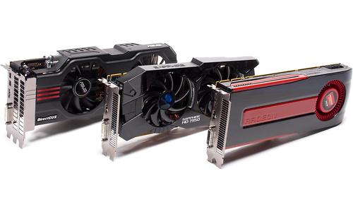 AMD Radeon HD 7950 Triple CrossFireX
