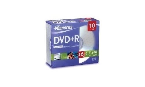 MemoRight DVD+R 16x 10pk
