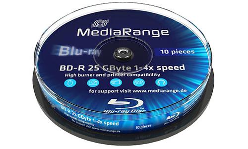 MediaRange BD-R 4x 10px Spindle