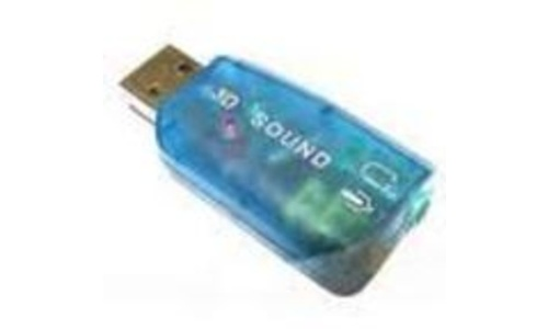 Dynamode USB to Speaker & Microphone Adapter