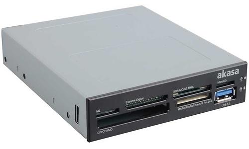 Akasa 3.5 Internal 6-Slot Multicard Reader with USB 3.0